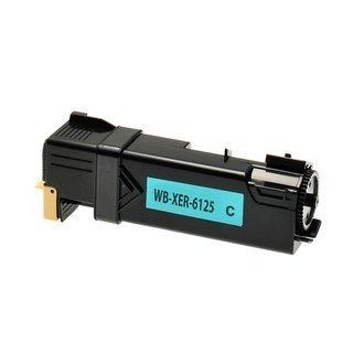 Xerox 106R01335 / Phaser 6125 съвместима тонер касета, циан