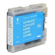 Brother LC-970C съвместима мастилница, циан