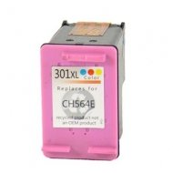 HP301CL XL (CH564EE) съвместима мастилница, цветна
