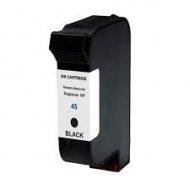 HP45 XL (51645AE) съвместима мастилница, черен