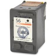 HP56 (C6656AE) съвместима мастилница, черен