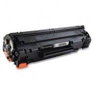 HP CE285A съвместима тонер касета, черен