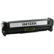 HP CE410X съвместима тонер касета, черен
