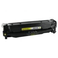 HP CE412A съвместима тонер касета, жълт