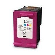 HP302CL XL (F6U67AE) съвместима мастилница, цветна