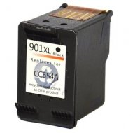HP901BK XL (CC654AE) съвместима мастилница, черен