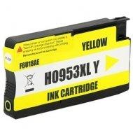 HP 953XL (F6U18AE) съвместима мастилница, жълт