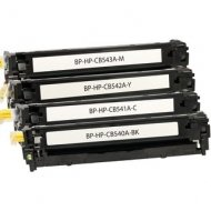 HP CB540A-CB543A съвместим икономичен комплект
