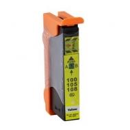 Lexmark 100XL (14N1071E) съвместима мастилница, жълт