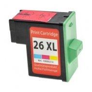 Lexmark 26 (10N0026E) съвместима мастилница, цветна