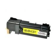 Xerox 106R01458 / Phaser 6128 съвместима тонер касета, жълт